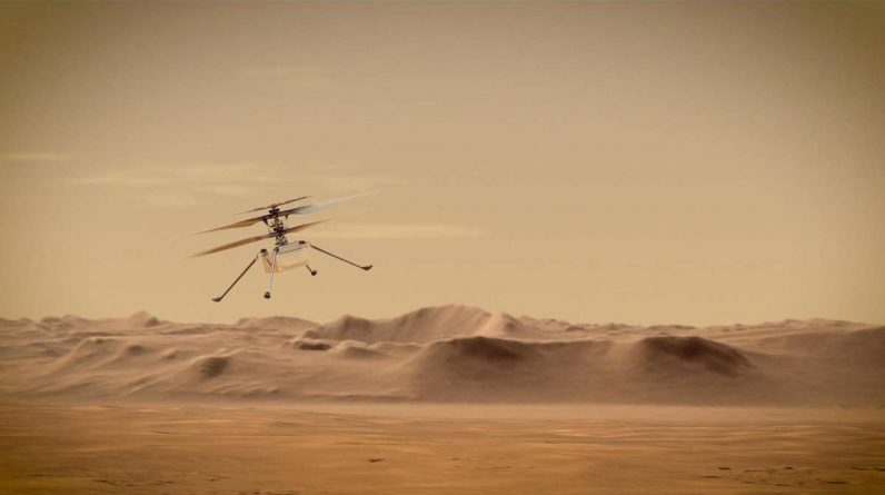 NASA is bringing helicopters to Mars - it should prove almost impossible