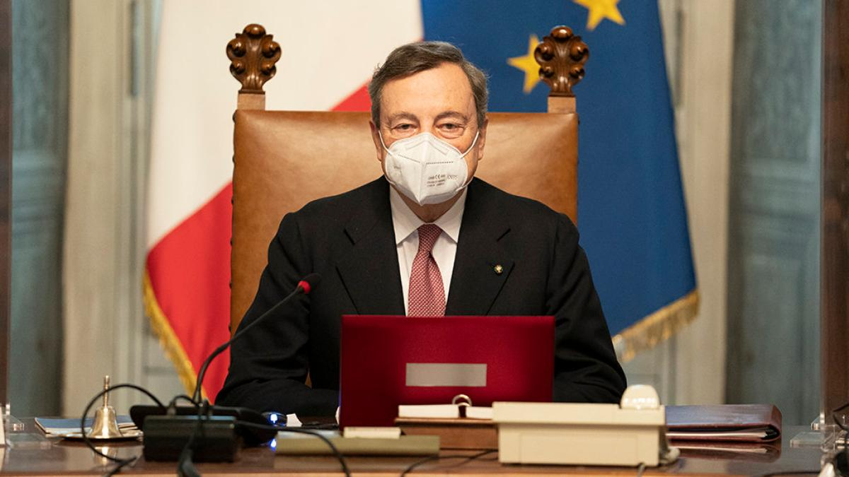 """Italy: Draghi on """"A Government of Environmentalists"""""""