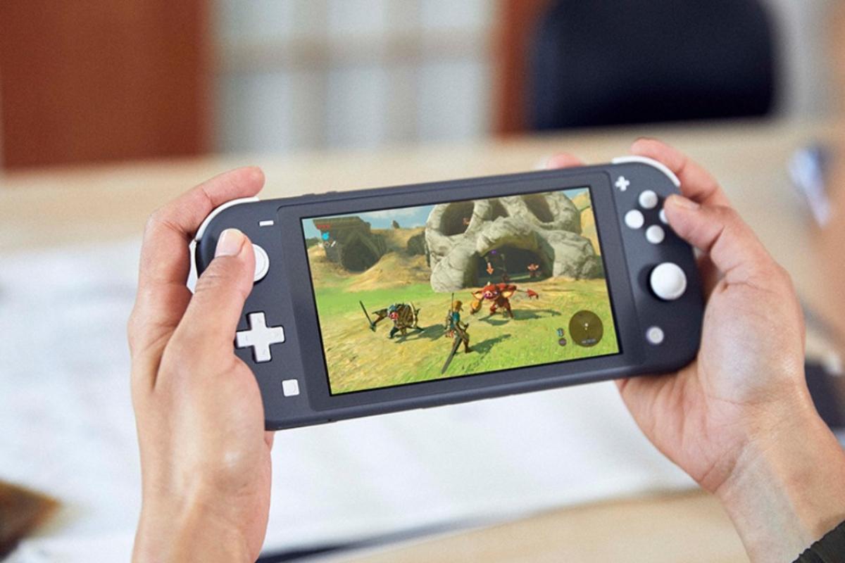 Nintendo Switch Lite Zelda Header