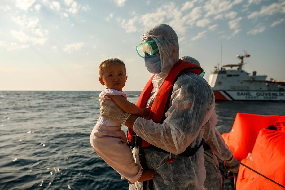 Refugees Abandoned at Sea: Fear of Death