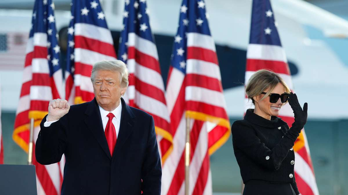 Melania Trump: New First Lady Jill Biden has already outgrown her
