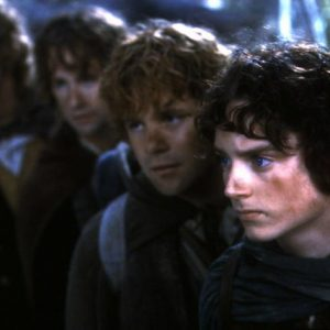 Frodo thinks it's stupid to call the series The Lord of the Rings