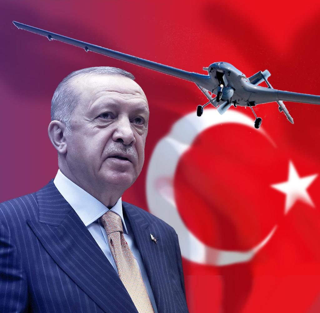 Turkish President Recep Tayyip Erdogan has based his expansionary foreign policy on the use of drones