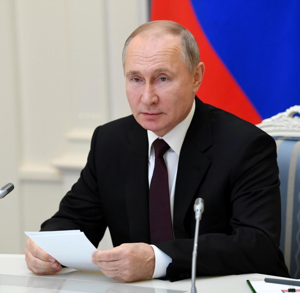 Russian President Vladimir Putin appears to have taken charge by promising to produce large quantities of vaccines