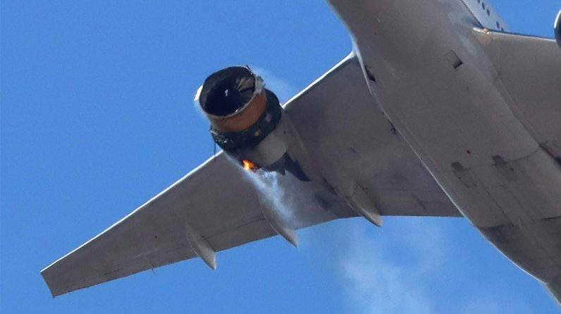 A united passenger narrates his journey after the engine catches fire