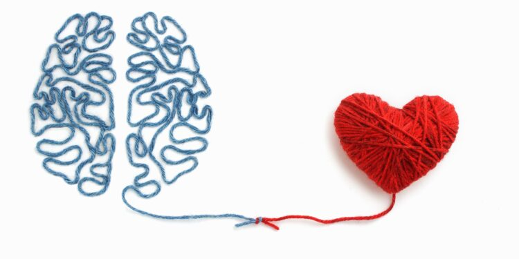Brain knot and heart of wool.