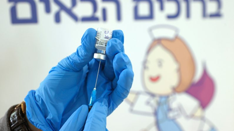 Israeli data indicate that mass vaccinations have resulted in a decrease in severe Covid cases, according to the CDC study