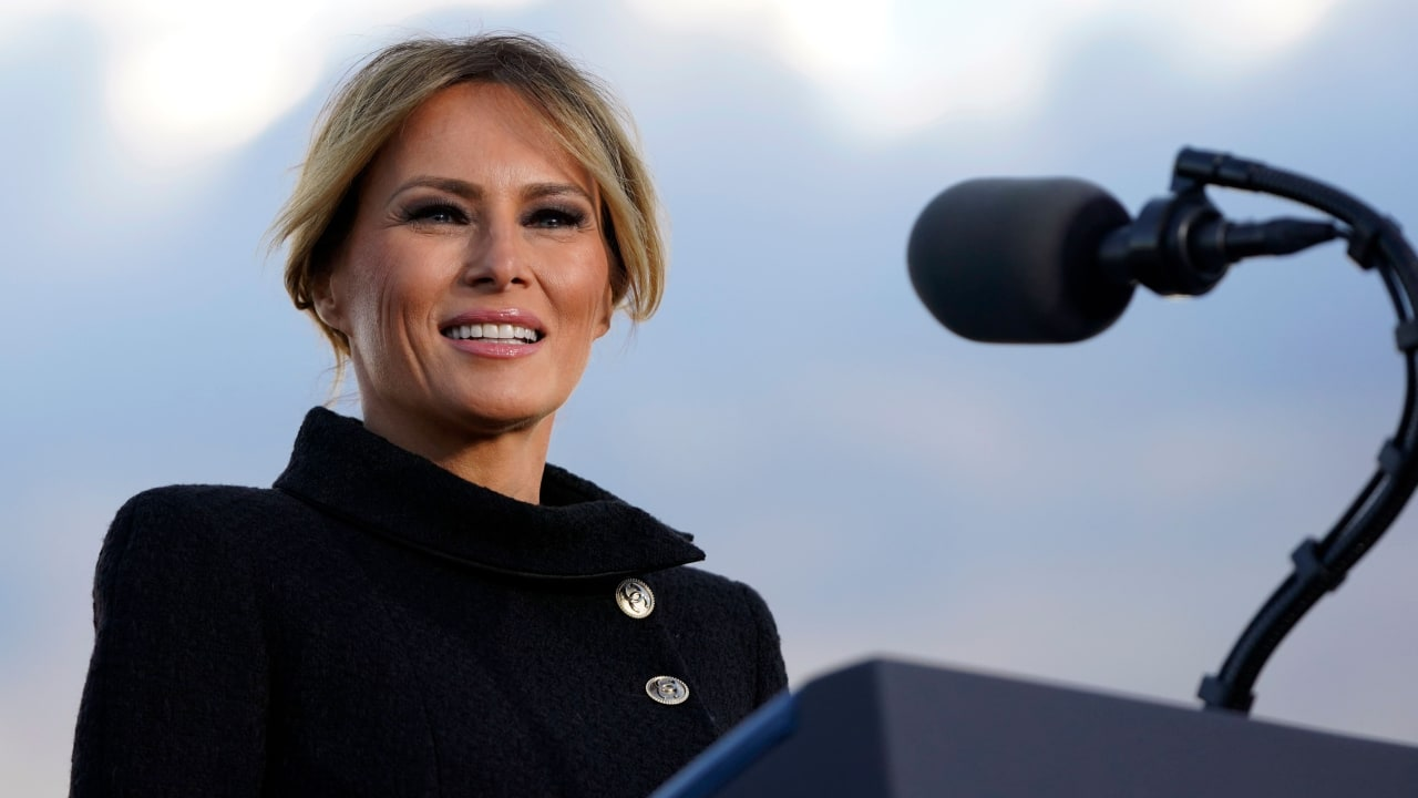 Melania Trump: New Twitter Account!  What is the planning of the former first lady?  - Politics