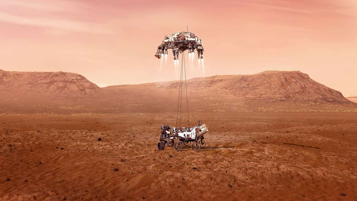 """NASA's """"March 2020"""" mission: Why not live despite live broadcasts"""