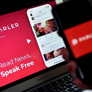 Parler correct internet connected to internet again
