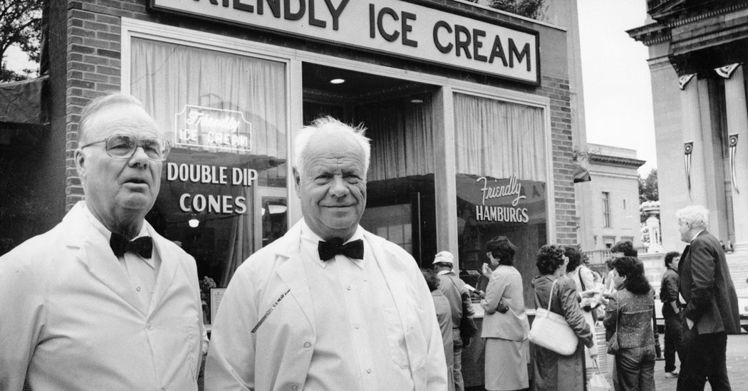 S. Prestley Blake, Founder of Friendly's, has passed away at the age of 106