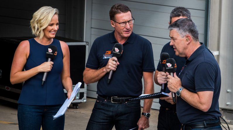 Supercars confirm Fox Sports Channel Seven's crew