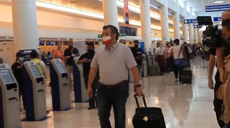 Ted Cruz: Texas in snowy chaos and the Senator on vacation - another Republican flees in a private jet