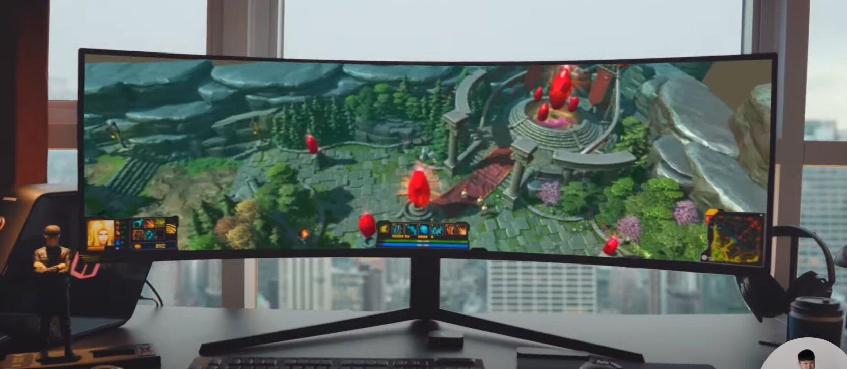 Samsung Odyssey G9 Screen (2021)