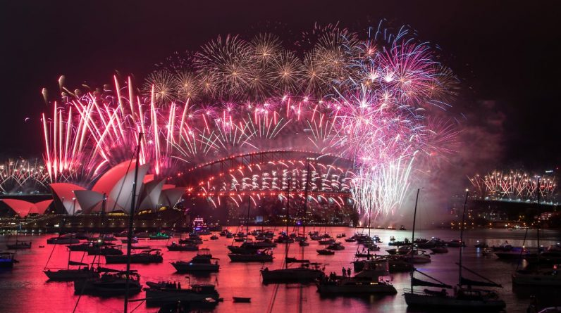 New Year's Eve without restrictions: China celebrates leisurely, and New Zealand celebrates loudly