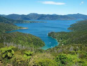 River valleys in New Zealand