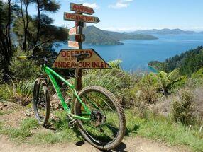 Deep Bay in New Zealand