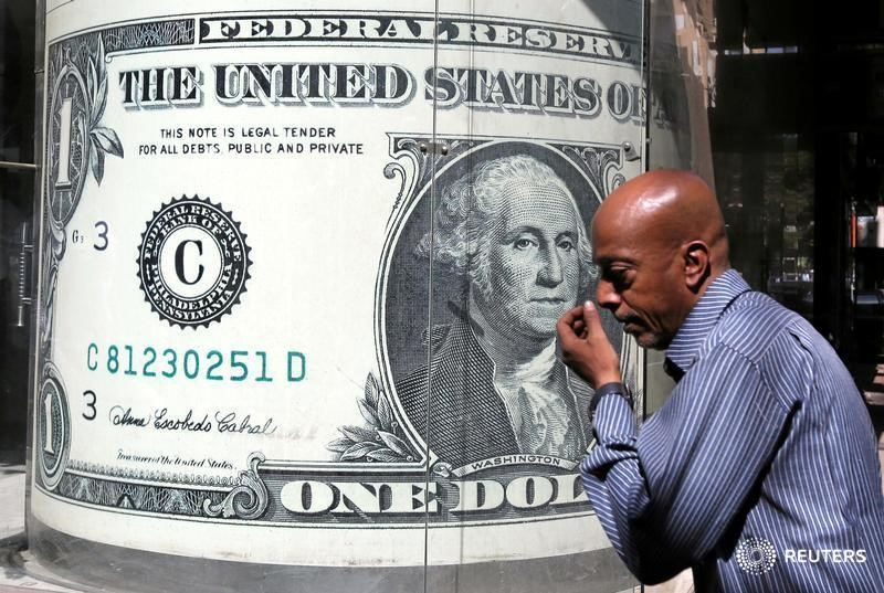 Dollar hovers near its three-month high as bonds sell off;  Risk Currencies Dropping Gains By Reuters
