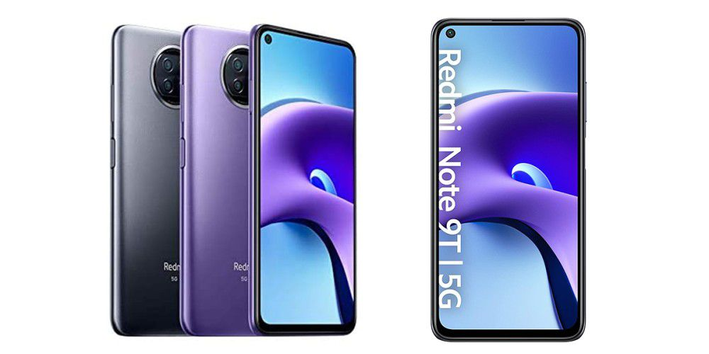 Redmi Note 9T 5G at a competitive price on Amazon