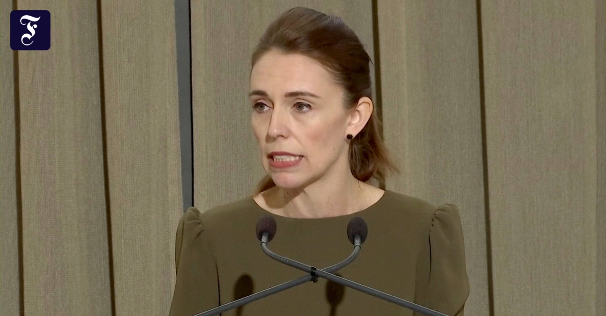 Right-wing extremism in New Zealand: Jacinda Ardern apologizes