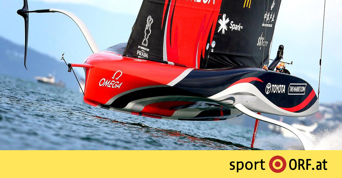 America's Cup: New Zealand leads the way after an exciting day of racing