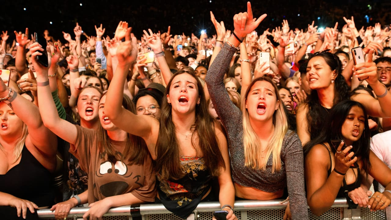 New Zealand without Corona: 30,000 fans of Six60 rock concert - News abroad