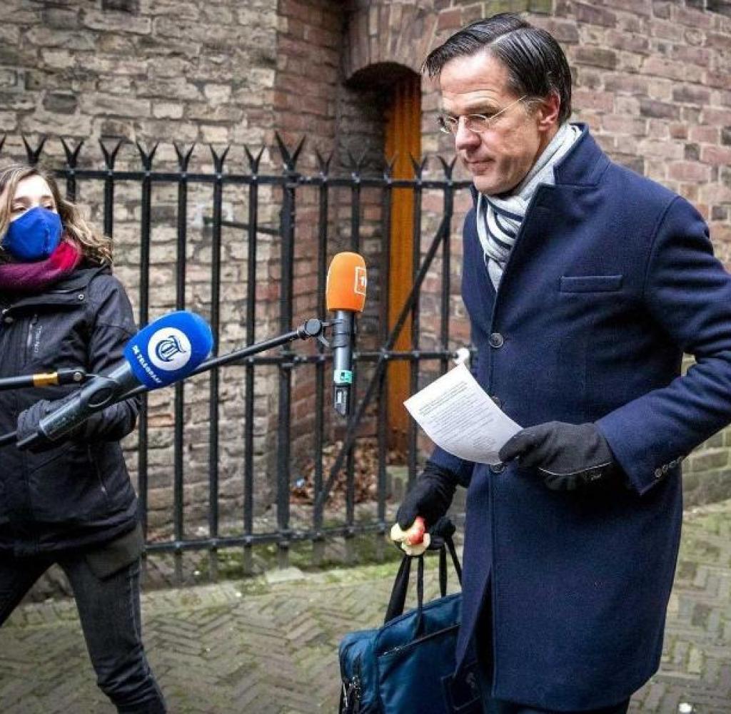 He also announced his resignation: Prime Minister Mark Rutte