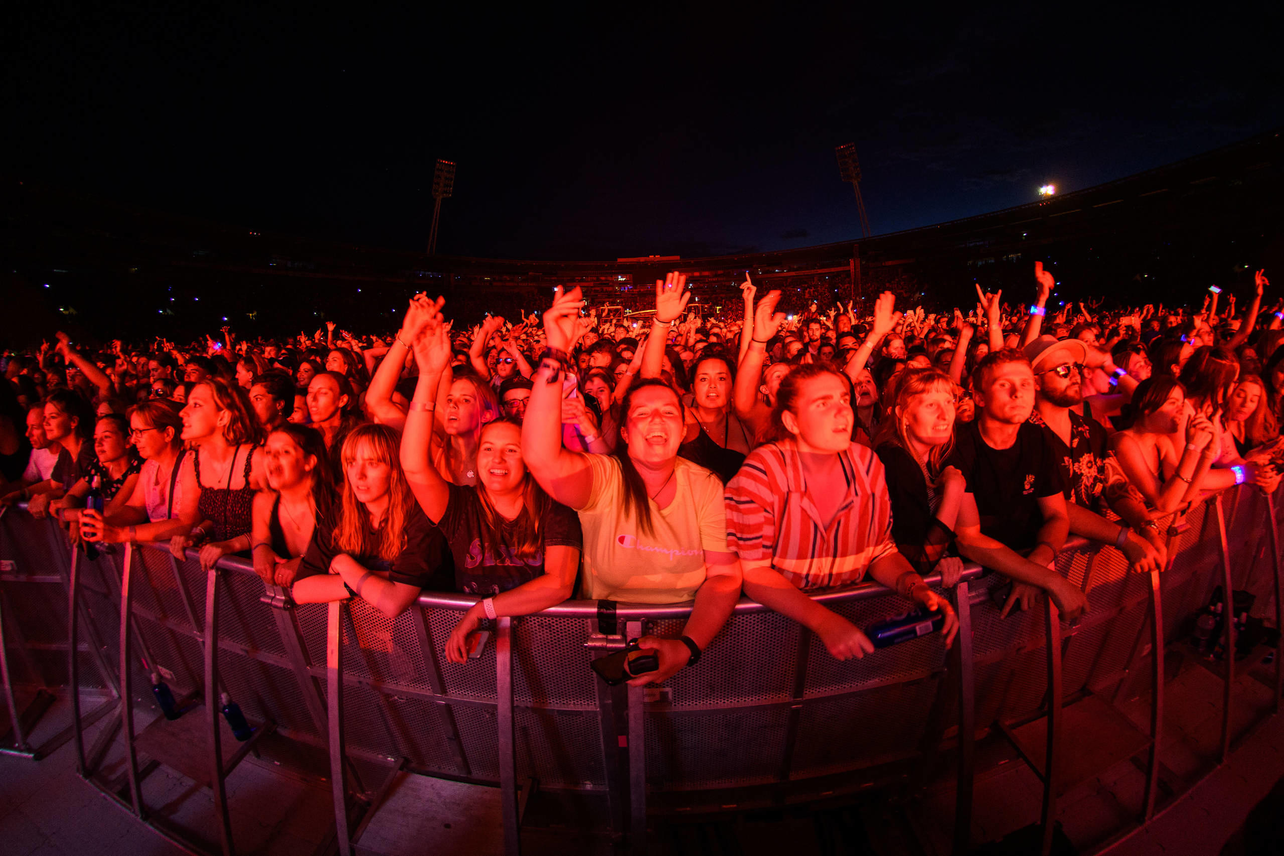 30,000 fans at the Six60 concert in New Zealand