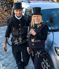 Chimney Sweep Couple: Janet Orr and Stephan Knopf