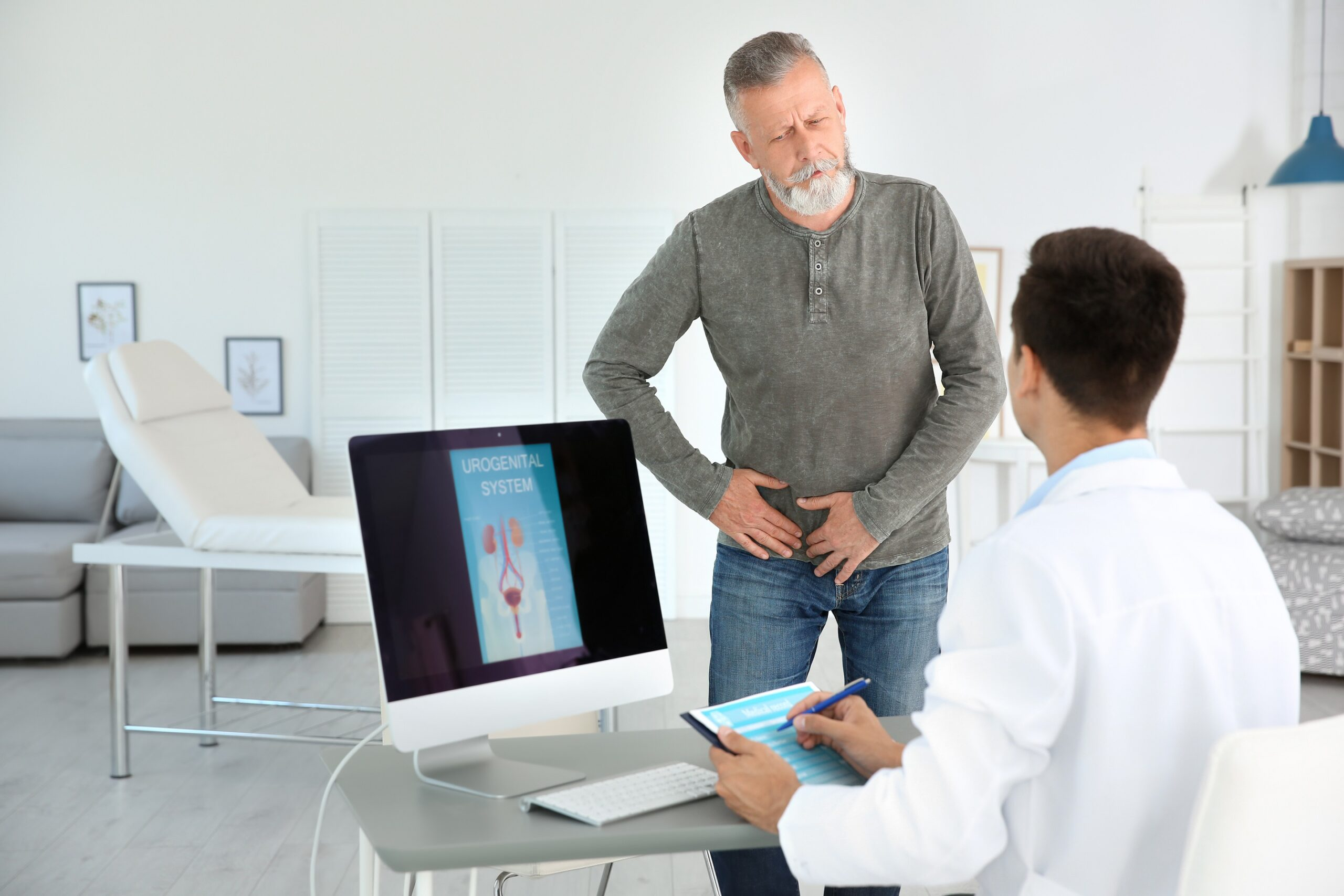 Prostate cancer can be diagnosed through urine - a healing practice