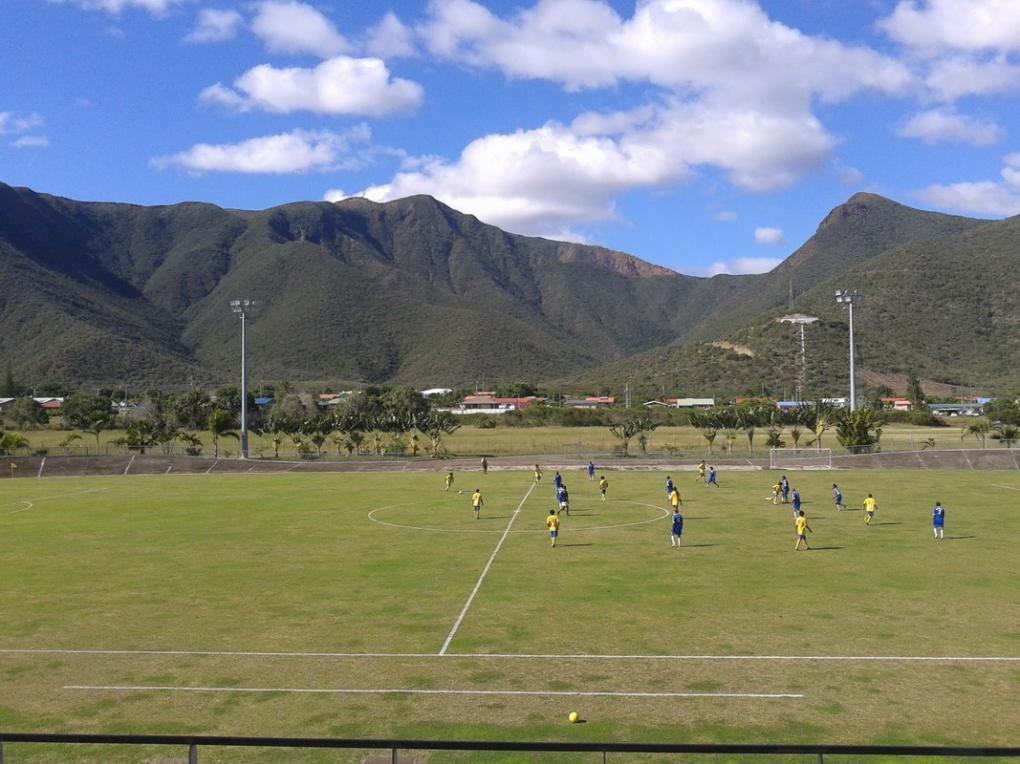JS Tieta at his Stade Xuuti-Xuuthapet home.