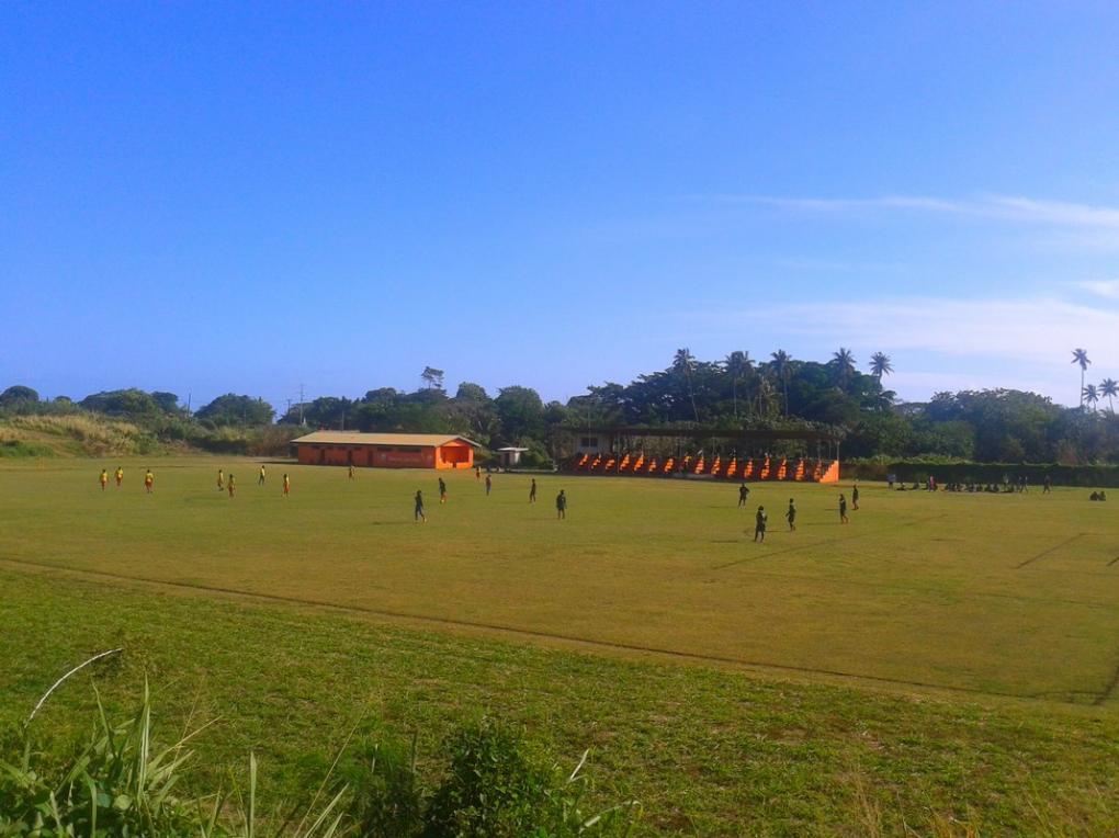 Laminu Stadium opened in 1986.