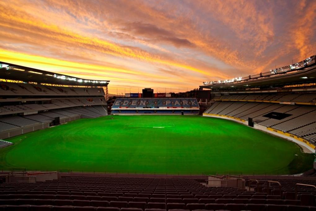 Eden Park is used for rugby in winter and cricket in summer.