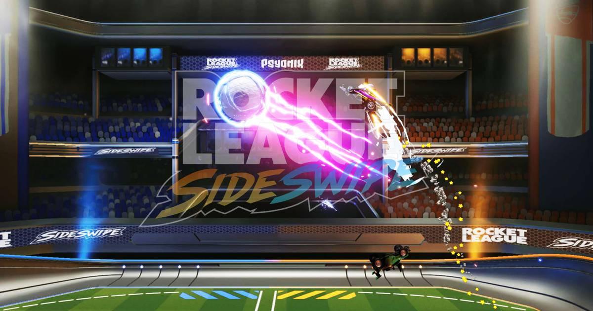 Rocket League Sideswipe - Autoball on the go