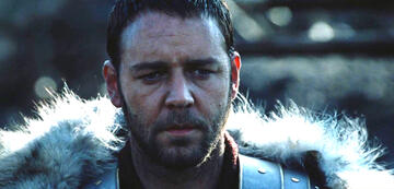 Russell Crowe on the Lord of the Rings, 20 years ago in Gladiator