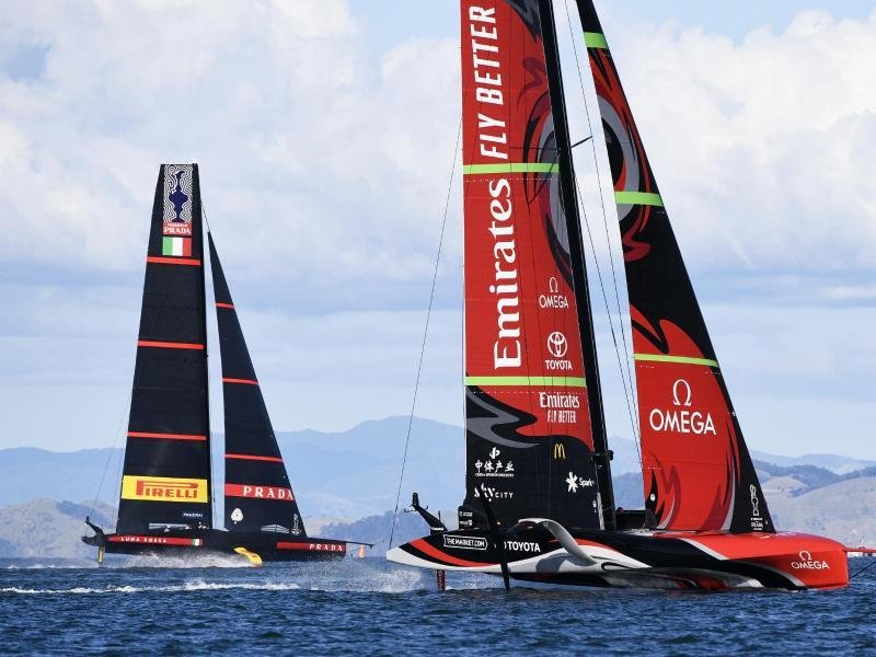 America's Cup: Close race between New Zealand and Italy    Free Press