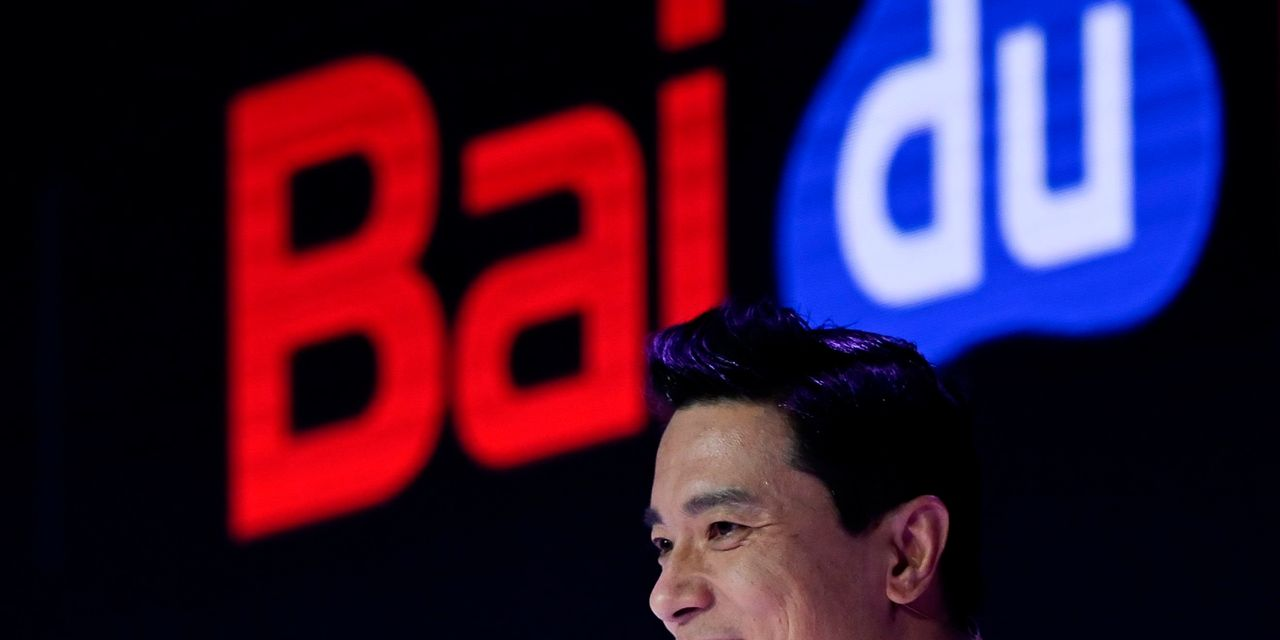 Asian markets were mixed with Baidu's volatility in Hong Kong for the first time