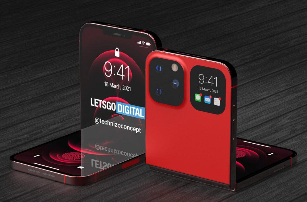 IPhone foldable design concept