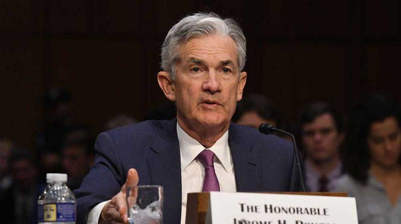 "Dow Jones Holds as the Nasdaq Index falls; Will Fed Chairman Powell offer Treasury yield ""evolution"" as the stock market falters?"