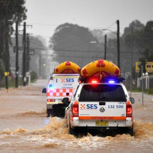 Flooding in Australia: the country's east coast is in emergency