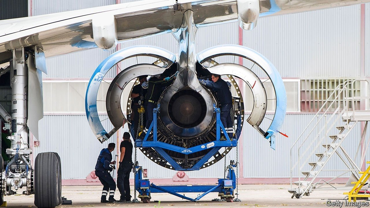 Losers Impulse - Jet Engine Makers Face Long Pandemic Recovery    Business