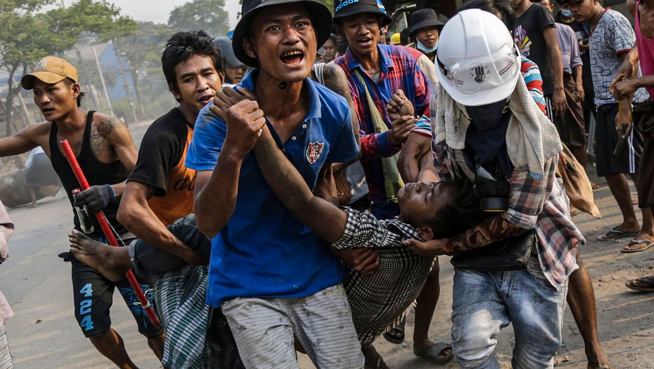 Myanmar: Death toll again in protests against military rule