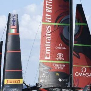 New Zealand holds the America's Cup