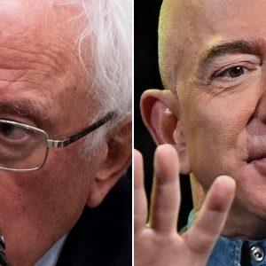 Sanders criticizes Jeff Bezos for trying to stop Amazon Union