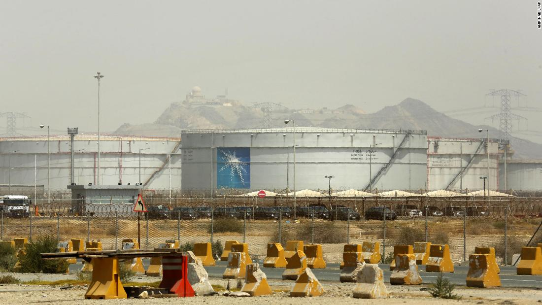 Saudi Aramco announces that its profits have fallen sharply in 2020