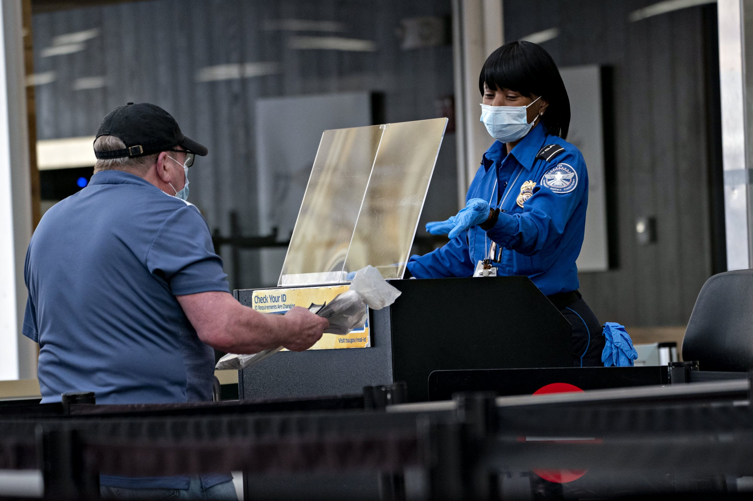 The TSA records its highest passenger screening in nearly a year