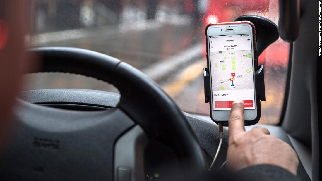 Uber drivers in the UK get paid leave, pensions after a Supreme Court ruling