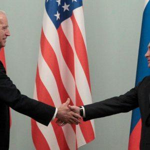 Vladimir Putin proposes a lively discussion on Joe Biden