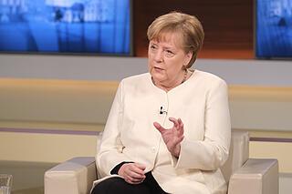 Angela Merkel with Ann Will