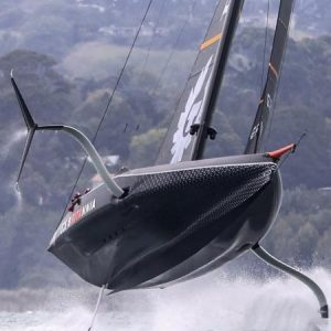 Sailing - Great Britain's first competitor in the 37th American Cup - a sport
